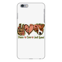 Peace Love Jack Russel iPhone 6 Plus/6s Plus Case | Artistshot