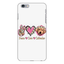 Peace Love Labrador iPhone 6 Plus/6s Plus Case | Artistshot
