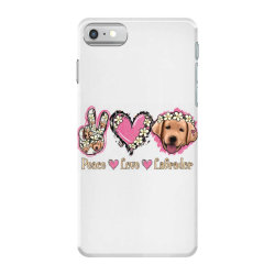 Peace Love Labrador iPhone 7 Case | Artistshot