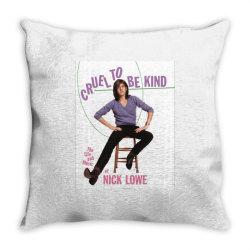 cruel to be kind Throw Pillow   Artistshot