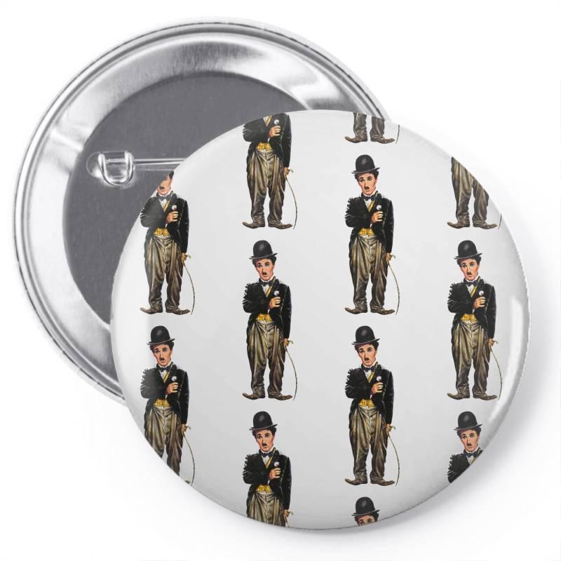 Charlie Chaplin Pin-back Button | Artistshot