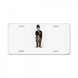 Charlie Chaplin License Plate | Artistshot