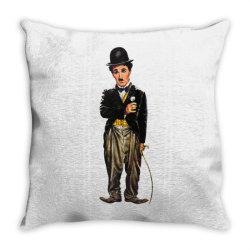 Charlie Chaplin Throw Pillow | Artistshot