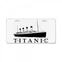Titanic License Plate   Artistshot