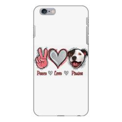 Peace Love Pitties iPhone 6 Plus/6s Plus Case   Artistshot