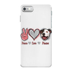 Peace Love Pitties iPhone 7 Case   Artistshot
