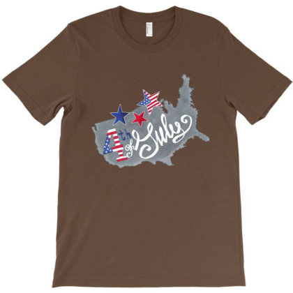 4th Of July T-shirt Designed By Dev18