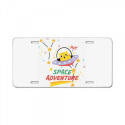 cat astronaut License Plate   Artistshot