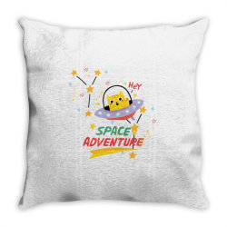 cat astronaut Throw Pillow   Artistshot