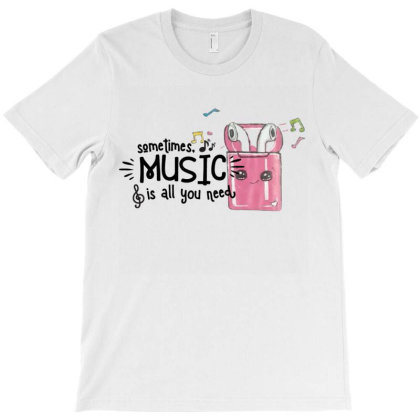 Music Brings Peace Of Mind T-shirt Designed By Artefact33