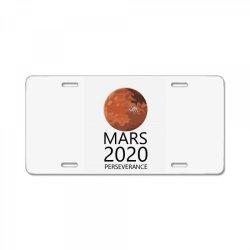 mars 2020 perseverance License Plate   Artistshot