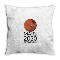 mars 2020 perseverance Throw Pillow   Artistshot