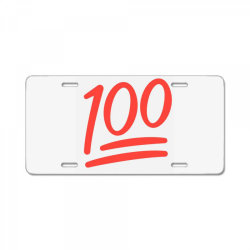 100 number License Plate | Artistshot