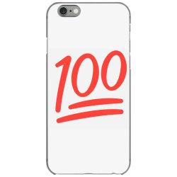 100 number iPhone 6/6s Case | Artistshot