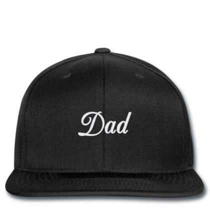 Dad Script Snapback Designed By Madhatter