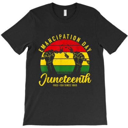 Juneteenth Emancipation Day Vintage Cool Melanin Black Pride T-shirt Designed By Conco335@gmail.com