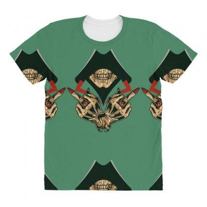 Dead Assassins All Over Women's T-shirt Designed By Specstore