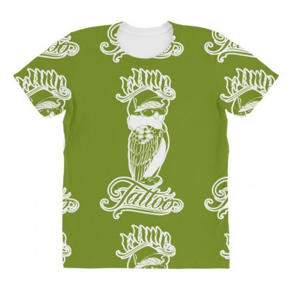 Fame Tattoo All Over Women's T-shirt Designed By Specstore