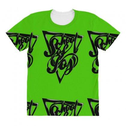 Schoo Lof Joy All Over Women's T-shirt Designed By Specstore