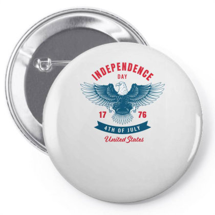 Independence Day 1776 Pin-back Button Designed By Turquoise