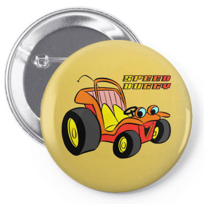 Speed Buggy Pin-back Button Designed By Pop Cultured