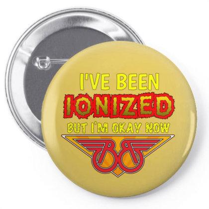 Buckaroo Banzai : Ionized Pin-back Button Designed By Pop Cultured