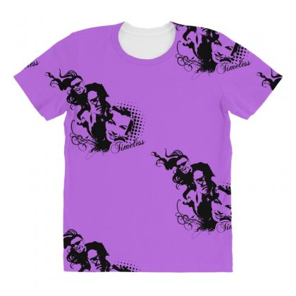 Timeless All Over Women's T-shirt Designed By Specstore