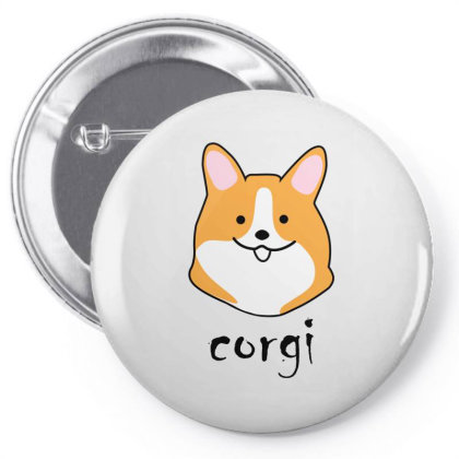 Baby Corgi Pin-back Button Designed By Lerosedeals