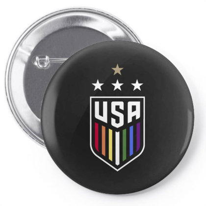 Uswnt Lgbtq Pin-back Button Designed By Cosby