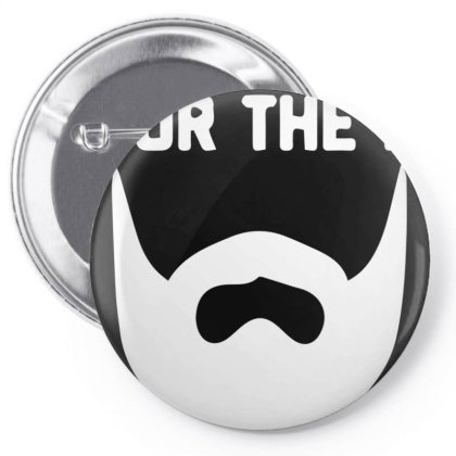 For The B For The D Pin-back Button Designed By Sakatiar