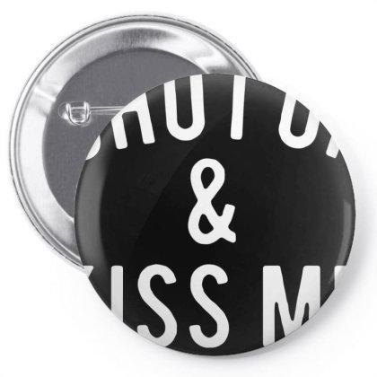 Shut Up Kiss Me Pin-back Button Designed By Sakatiar