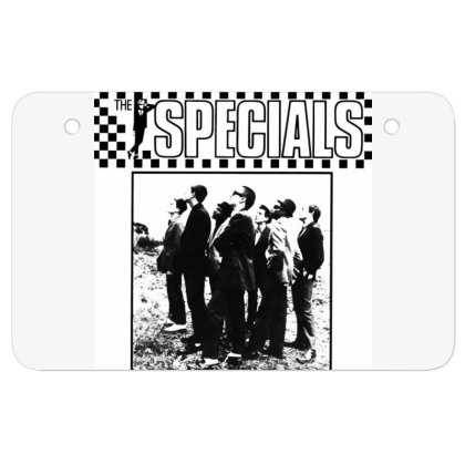 The Specials Atv License Plate Designed By Princeone