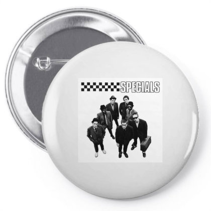 The Specials Ska Pin-back Button Designed By Princeone