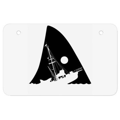 Attacked Ship Atv License Plate Designed By Alpharose