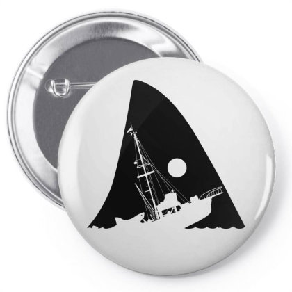 Attacked Ship Pin-back Button Designed By Alpharose