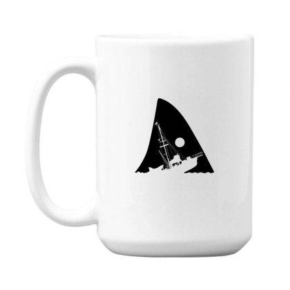 Attacked Ship 15 Oz Coffee Mug Designed By Alpharose