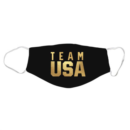 Usa Team Gold Face Mask Designed By Cosby