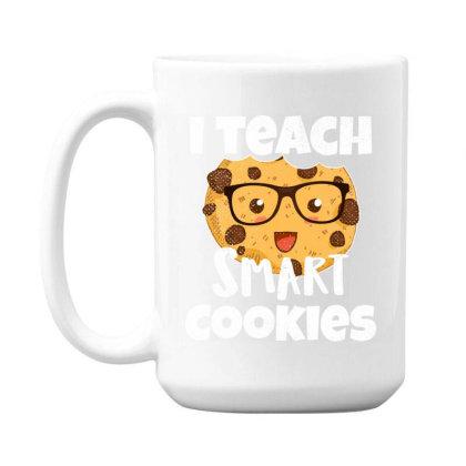 Teacher Funny Birthday Gift   I Teach Smart Cookies Vintage 15 Oz Coffee Mug Designed By Rishart