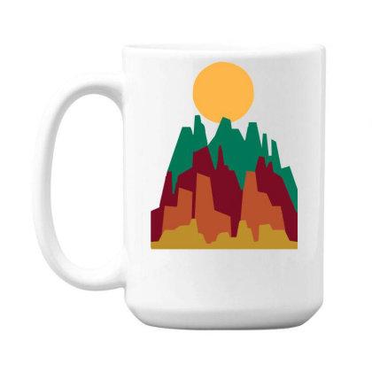 Rocky Landscape 15 Oz Coffee Mug Designed By Garrys4b4