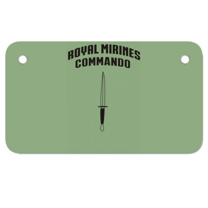 Royal Command Motorcycle License Plate Designed By Garrys4b4