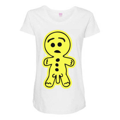 Rude Gingerread Maternity Scoop Neck T-shirt Designed By Garrys4b4