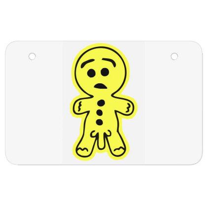 Rude Gingerread Atv License Plate Designed By Garrys4b4