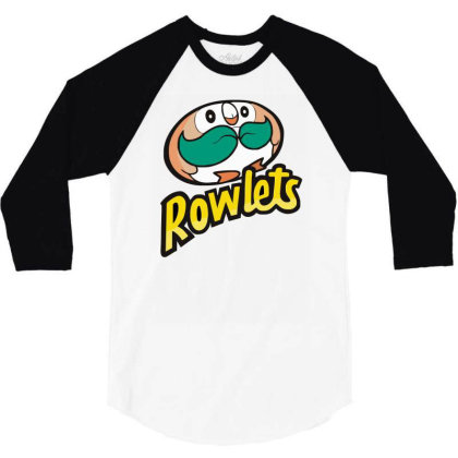 Rowlets! 3/4 Sleeve Shirt Designed By Garrys4b4