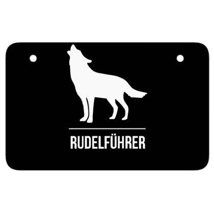 Rudelführer Atv License Plate Designed By Garrys4b4