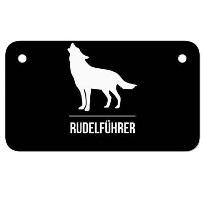 Rudelführer Motorcycle License Plate Designed By Garrys4b4