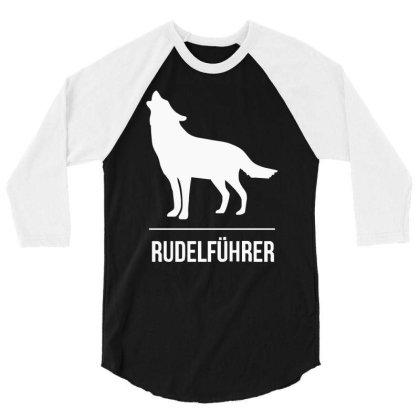Rudelführer 3/4 Sleeve Shirt Designed By Garrys4b4
