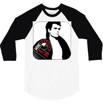 Nik Kershaw 3/4 Sleeve Shirt Designed By Princeone