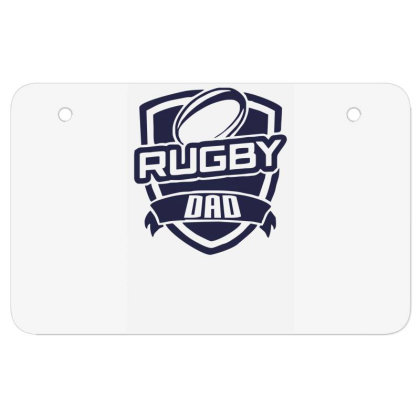 Rugby Dad Atv License Plate Designed By Garrys4b4