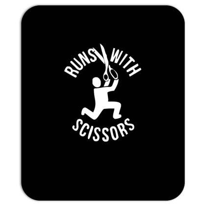 Run Swith Scissors Mousepad Designed By Garrys4b4