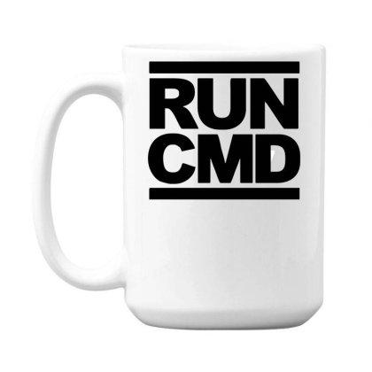 Run Cmd Funny Parody Dmc 15 Oz Coffee Mug Designed By Garrys4b4